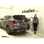 Thule Passage Trunk Bike Racks Review - 2013 Hyundai Santa Fe