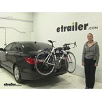 Thule Passage Trunk Bike Racks Review - 2013 Hyundai Sonata