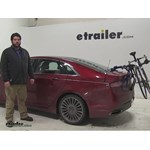 Thule Passage Trunk Bike Racks Review - 2013 Lincoln MKZ