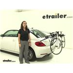 Thule Passage Trunk Bike Racks Review - 2013 Volkswagen Beetle