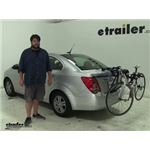 Thule Passage Trunk Bike Racks Review - 2014 Chevrolet Sonic