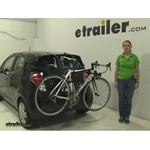 Thule Passage Trunk Bike Racks Review - 2014 Chevrolet Spark