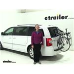 Thule Passage Trunk Bike Racks Review - 2014 Chrysler Town and Country