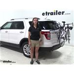 Thule Passage Trunk Bike Racks Review - 2014 Ford Explorer