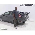 Thule Passage Trunk Bike Racks Review - 2014 Ford Fiesta