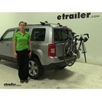 Thule Passage Trunk Bike Racks Review - 2014 Jeep Patriot