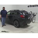 Thule Passage Trunk Bike Racks Review - 2014 Subaru XV Crosstrek