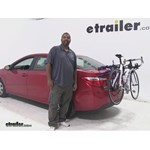 Thule Passage Trunk Bike Racks Review - 2014 Toyota Corolla