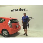 Thule Passage Trunk Bike Racks Review - 2014 Toyota Prius c