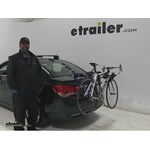 Thule Passage Trunk Bike Racks Review - 2015 Chevrolet Cruze