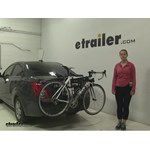 Thule Passage Trunk Bike Racks Review - 2015 Chevrolet Sonic
