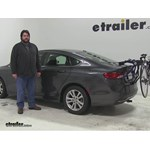 Thule Passage Trunk Bike Racks Review - 2015 Chrysler 200