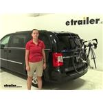 Thule Passage Trunk Bike Racks Review - 2015 Chrysler Town and Country