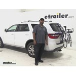 Thule Passage Trunk Bike Racks Review - 2015 Dodge Durango
