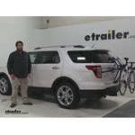 Thule Passage Trunk Bike Racks Review - 2015 Ford Explorer