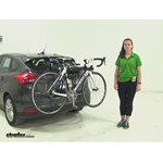 Thule Passage Trunk Bike Racks Review - 2015 Ford Focus