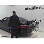 Thule Passage Trunk Bike Racks Review - 2015 Honda Accord