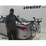Thule Passage Trunk Bike Racks Review - 2015 Hyundai Accent