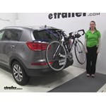 Thule Passage Trunk Bike Racks Review - 2015 Kia Sportage