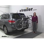 Thule Passage Trunk Bike Racks Review - 2015 Nissan Pathfinder