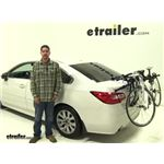 Thule Passage Trunk Bike Racks Review - 2015 Subaru Legacy
