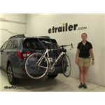 Thule Passage Trunk Bike Racks Review - 2015 Subaru Outback Wagon