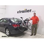 Thule Passage Trunk Bike Racks Review - 2016 Chevrolet Cruze Limited