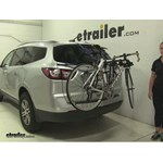 Thule Passage Trunk Bike Racks Review - 2016 Chevrolet Traverse