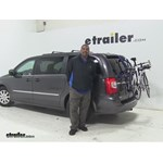 Thule Passage Trunk Bike Racks Review - 2016 Chrysler Town and Country
