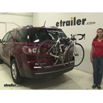 Thule Passage Trunk Bike Racks Review - 2016 GMC Acadia