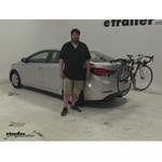 Thule Passage Trunk Bike Racks Review - 2016 Hyundai Elantra