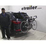 Thule Passage Trunk Bike Racks Review - 2016 Hyundai Santa Fe