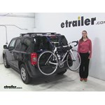 Thule Passage Trunk Bike Racks Review - 2016 Jeep Patriot