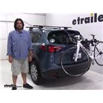 Thule Passage Trunk Bike Racks Review - 2016 Mazda CX-5
