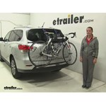 Thule Passage Trunk Bike Racks Review - 2016 Nissan Pathfinder