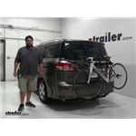 Thule Passage Trunk Bike Racks Review - 2016 Nissan Quest
