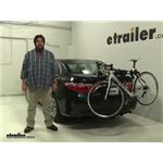 Thule Passage Trunk Bike Racks Review - 2016 Toyota Camry
