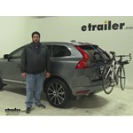 Thule Passage Trunk Bike Racks Review - 2016 Volvo XC60
