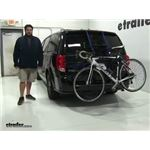 Thule Passage Trunk Bike Racks Review - 2017 Dodge Grand Caravan
