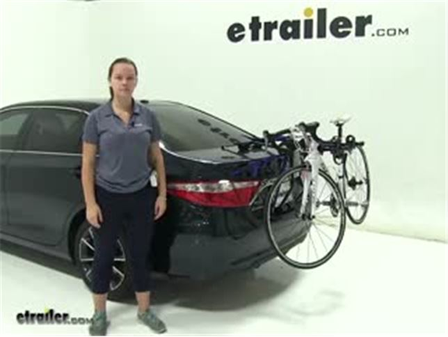 Thule Page Trunk Bike Racks Review 2017 Toyota Camry Video Etrailer