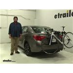 Thule Passage Trunk Bike Racks Review - 2017 Toyota Corolla