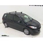 Thule Podium Roof Rack Installation - 2013 Mazda 5