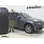 Thule Pulse Large Roof Cargo Carrier Review - 2013 Audi Q5