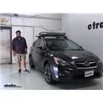Thule  Roof Basket Review - 2014 Subaru XV Crosstrek