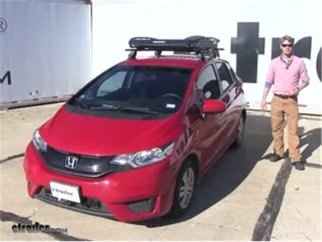 Thule Roof Basket Review 2016 Honda Fit Video Etrailer Com