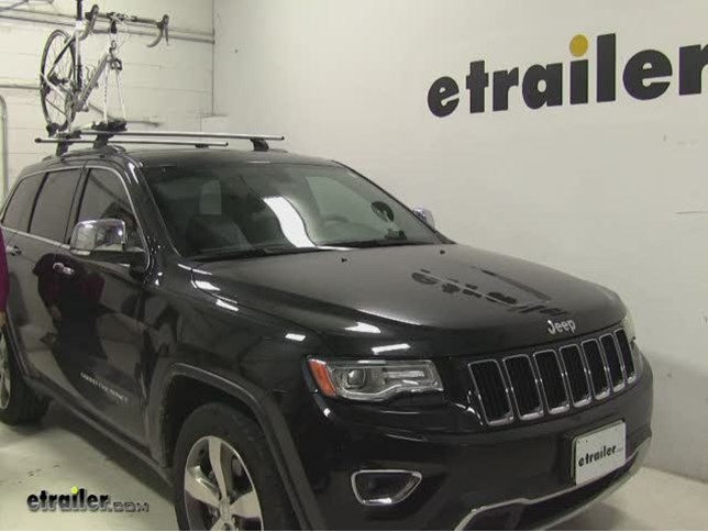 Thule Roof Bike Racks Review   2014 Jeep Grand Cherokee Video | Etrailer.com