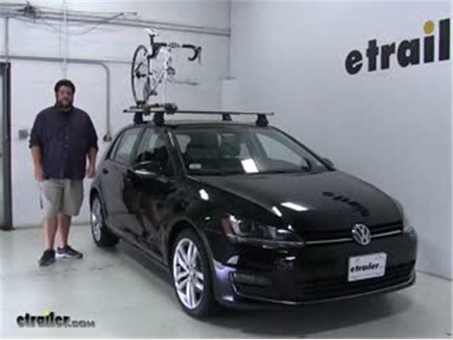 Thule Roof Bike Racks Review 2016 Volkswagen Golf Etrailer