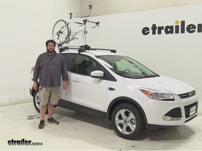 Thule Roof Bike Racks Review 2017 Ford Escape Etrailer Com
