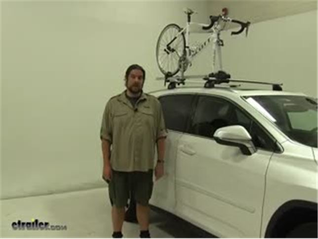 Thule Roof Bike Racks Review 2016 Lexus Rx 350 Video Etrailer Com