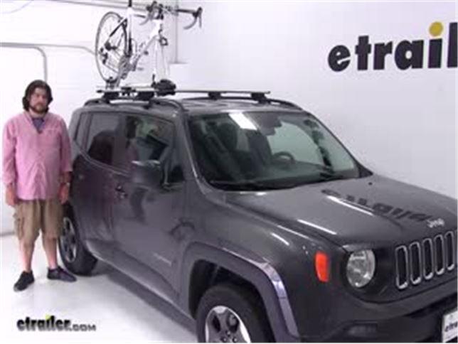 Thule Roof Bike Racks Review 2017 Jeep Renegade Video